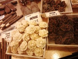 Chocolate roses by SayuriMVRomei