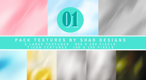 Texture Pack 1 by shad designs by shad-designs