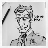 Vincent Price by icantreid