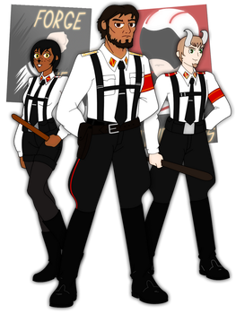 MM!AU: Early Pathfinders by Soundwave3591