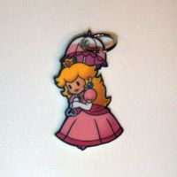Super Paper Mario Peach Charm by starprints