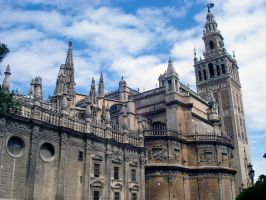 Cathedral of Seville by Nadia354