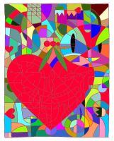 Stained Glass of Love by StormRider24