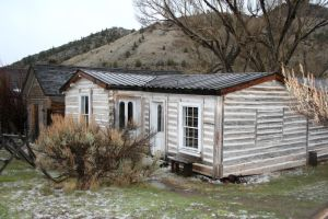 Bannack Ghost Town 390 by Falln-Stock
