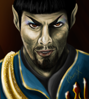 Mirror, Mirror Spock by Phoenix-Cry