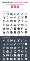 Music Icons by ottoson