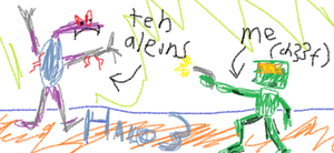 teh aleins by andyofcomixinc