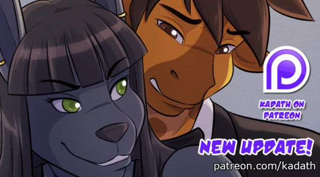 Dirty Talk: Page 18 Teaser by KadathArt