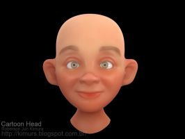 Cartoon Head Test by robersonjk