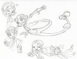 Sketch Monster Busters by Count-Conch
