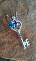 Inner Mechanism Fantasy Key Pendant by ArtByStarlaMoore