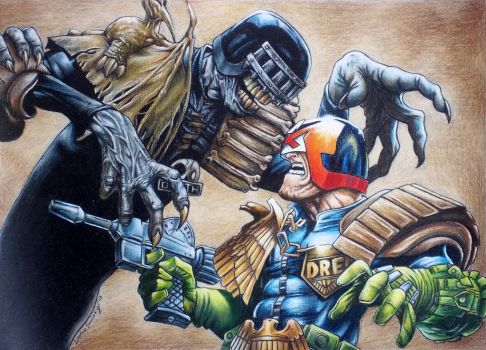 Judge Dredd by cowswithguns123