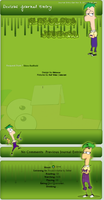 Request Ferb journal skin by DBluver