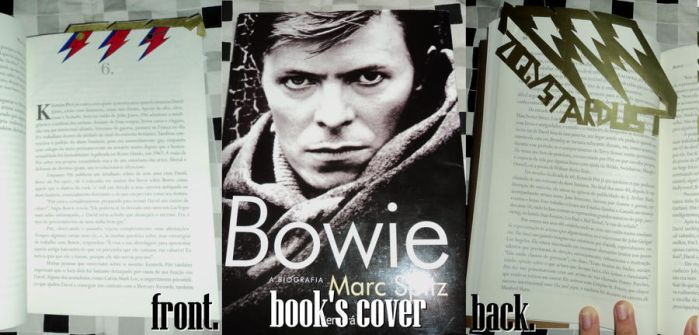 Bowie Bookmark by shiznittt