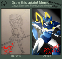 Meme  Before And After by xkatiexprime