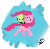 Gir and Pinkie by lookup4napkins