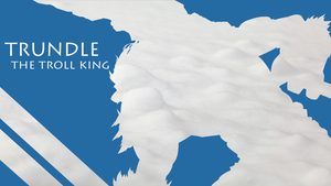 Trundle Silhouette - Light Blue - Snow - 1980x1080 by urban287