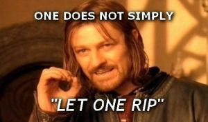 One Does Not Simply... Let One Rip by LightOfDawnPhotos