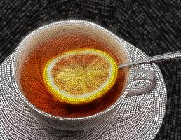 Tea Mosaic by Soulkreig