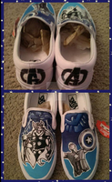 AVENGER SHOES by kristenmargina