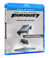 Furious 7 Blu-ray Box Art - Work in Progress by spacer114