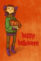 early halloween card by thundercake