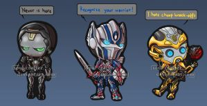 TF AoE Chibis by soul-crafter