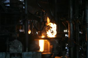 Glass Factory Stock Photo #12 by croicroga