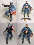 Ultimate Captain America WWII custom paint baker00 by Baker009