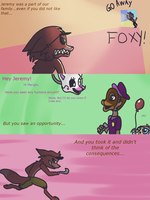 Fnaf silly comic - Foxys Pride part 12 by Maria-Ben