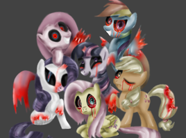 Creepypasta - CreepyPonies by DrSpencerReidBietch