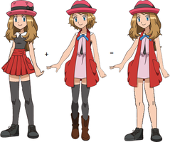 A Different Look for Serena by ChipmunkRaccoon2