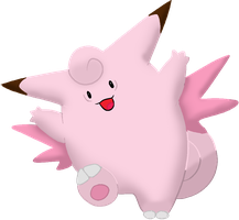 Clefable by Totalheartsboy