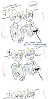 APH - USUK - u think u slick by ChaoticMiko