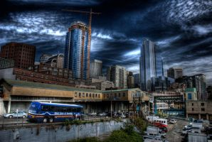 CityScape HDR by vazagothic