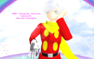 MMD - Cyborg 009 - Video promo 1 by InvaderBlitzwing