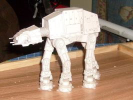 AT-AT Papercraft by lordmajaro