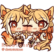 Tiny cheebs #6 by KokoTensho