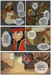 Ninja Monkey Comic p4 by The-Z