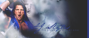 'The Phenomenal' AJ Styles by RateD09
