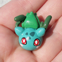 001 Bulbasaur Magnet by KingMelissa