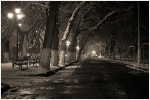 an empty park by narcissus-