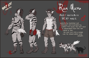 RanMaru Ref-sheet 2015 by SHAKUMl