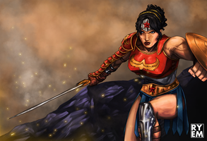 Diana of Themyscira by RyemSalim