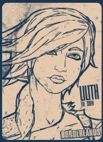 BORDERLANDS - Lilith Drawing by neonkiler99