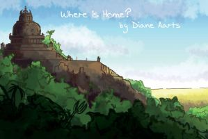 where is home- postcard by Di---Chan