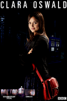 Clara Oswald - 50th Anniversary Doctor Who Poster by feel-inspired