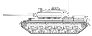 T-5A 'Dracul' Medium Tank by sharp-n-pointy
