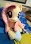 Fluttershy and Sock by ButtercupBabyPPG