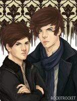 Sherlock!Larry by RockitRocket-RIR